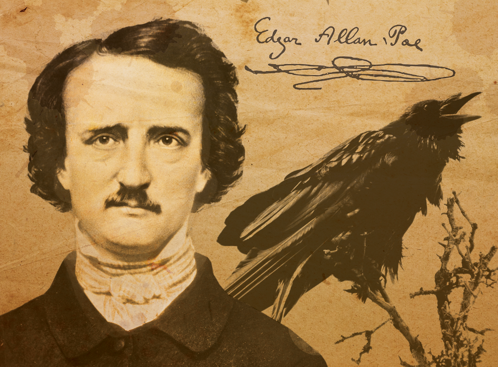 an analysis of the work of edgar allan poe The raven by edgar allan poe is a popular narrative poem written in first person, that centers around the themes of loss and self-analysisthe raven personifies the feeling of intense grief and loss, while other symbols throughout the poem reinforce a melodramatic mood that emphasizes the main character's grief and loss.